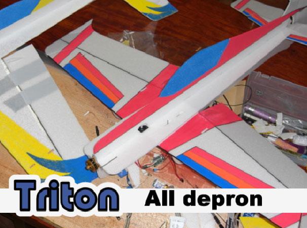 Triton Full Depron