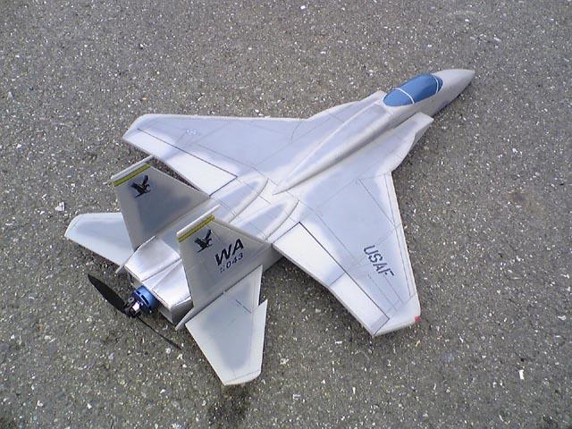 プッシャーF-15イーグル