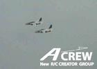 A-crew T-4 2機編隊飛行